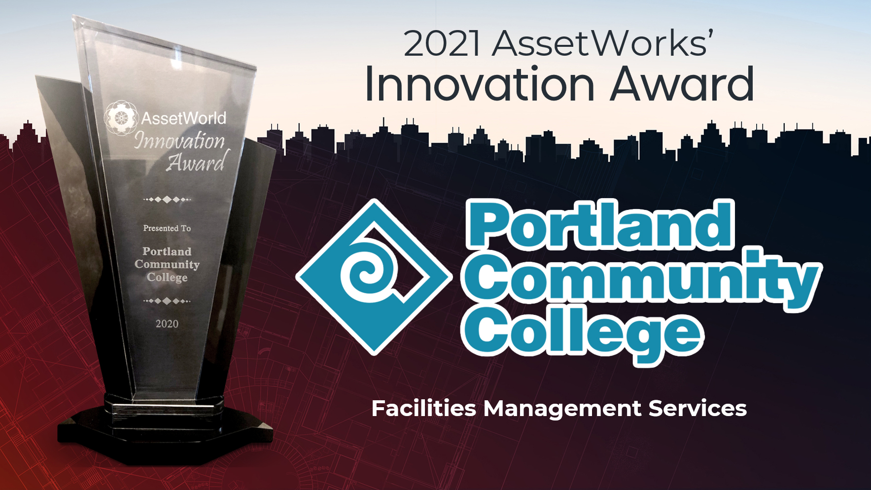 Portland Community College wins AssetWorld's 2021 Innovation Award