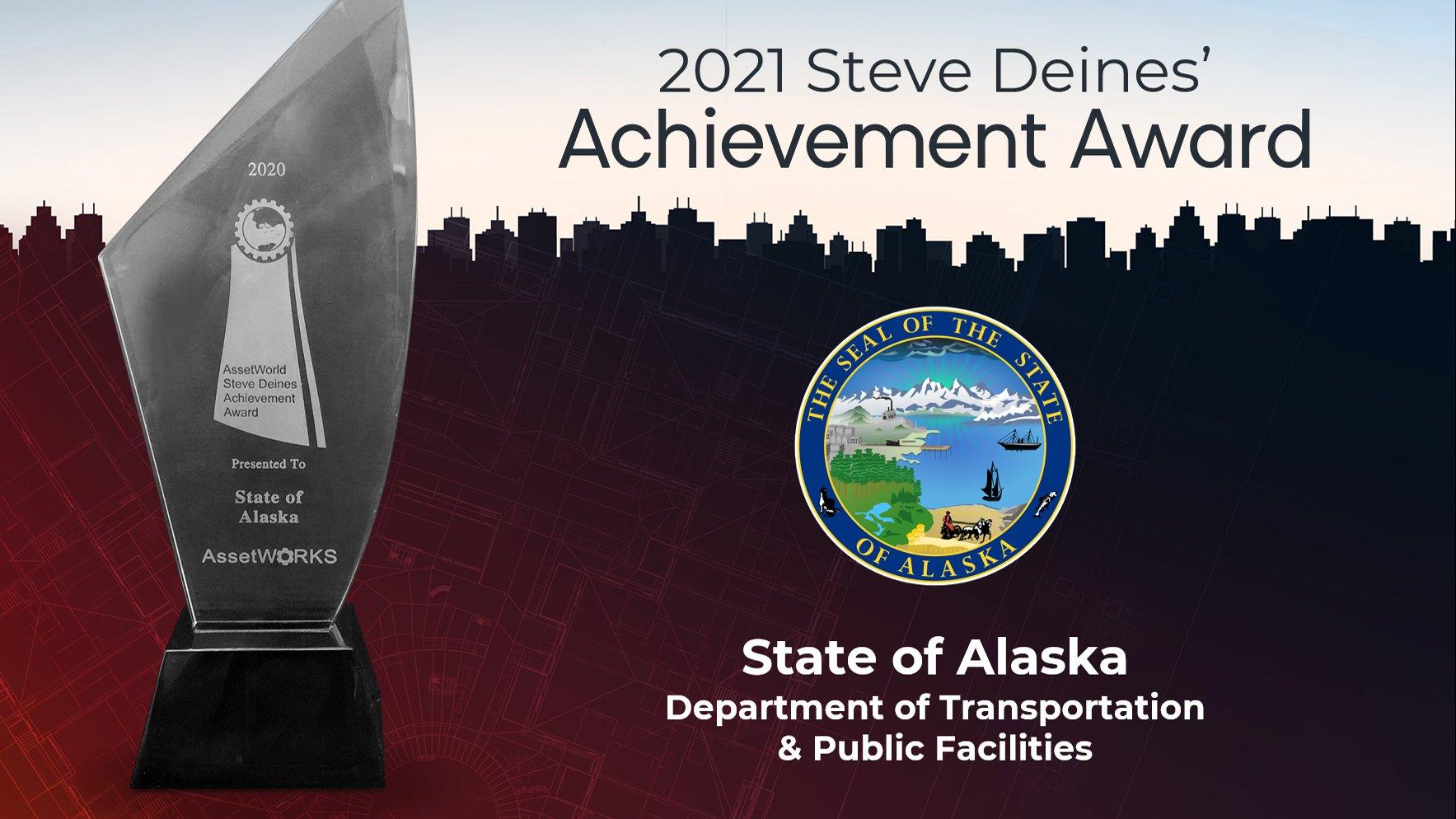 The State of Alaska wins AssetWorld's 2021 Steve Deines' Achievement Award